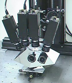 Multi-View Double Mirror Pyramid Panoramic Cameras