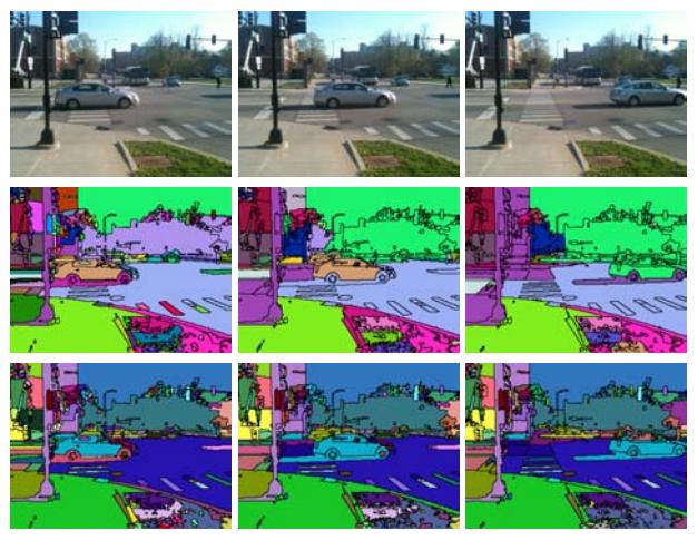 Low-level multiscale video segmentation